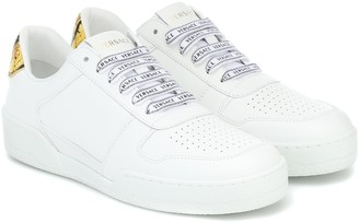 Versace Leather sneakers