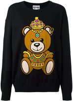 Moschino bear print sweatshirt - women - Cotton - L