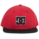 DC Shoes Red Logo Baseball Cap