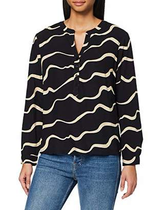 Tom Tailor Women's AOP Bluse Blouse