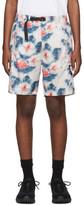 Stussy White Tie-Dye Sport Shorts