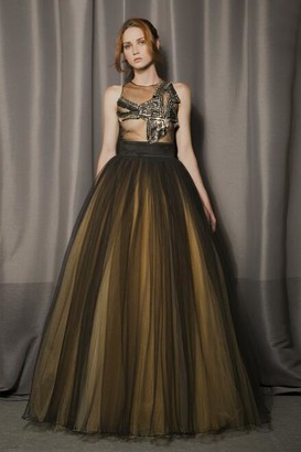 Gabriele Fiorucci Buciarelli Naomi_Sleeveless Ball Gown