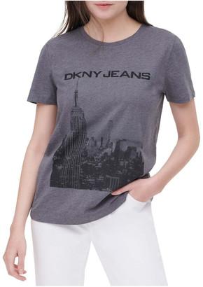 DKNY Cityscape Logo T-Shirt