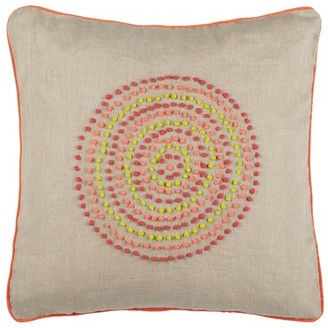 Safavieh Love Knots Linen Throw Pillow