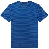 Theory Gaskell Striped Cotton-Blend Jersey T-Shirt