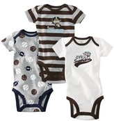 Carter's JUST ONE YOU TM Made by Infant Boys' 3-Pack Bodysuit - Brown