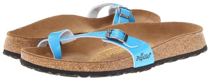 Papillio Piazza Birko-flor (Blue Birko-flor ) - Footwear
