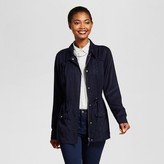 A New Day Women's Tencel Military Jacket - A New Day Navy