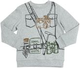 Stella McCartney Camera Printed Organic Cotton Sweatshirt