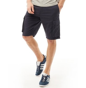 French Connection Mens Cargo Shorts Blue