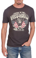 Lucky Brand Free World Eagle Graphic Tee