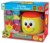 The Learning Journey Learn with Me, Shape Sorter Fun Pot