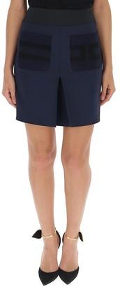 Elisabetta Franchi Front Slit Mini Skirt