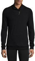 2xist Zippered Shawl Collar Pullover