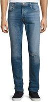 Hudson Sartor Slouchy Skinny Denim Jeans, Blue