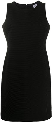 Giorgio Armani Pre-Owned 1990s Ribbed Shift Dress