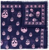 Alexander McQueen Skull scarf - women - Modal/Silk - One Size