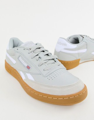 Reebok Classics revenge gum trainers-Grey