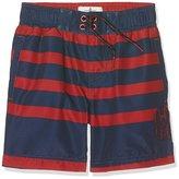 Fat Face Boy's Stripe Swim Shorts