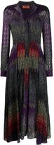Missoni abstract print shirt dress