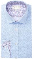 Ted Baker Padran Trim Fit Dress Shirt