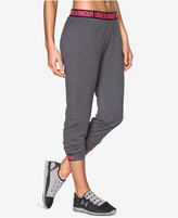 Under Armour Featherweight Cropped Fleece Pants