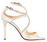 Jimmy Choo Lang Mirrored Sandals
