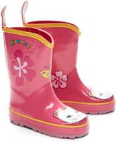 Kidorable Pink Lucky Cat Rain Boot