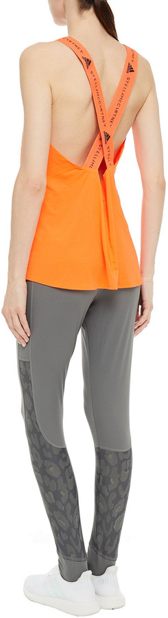 Thumbnail for your product : adidas by Stella McCartney Leopard-print Stretch Leggings