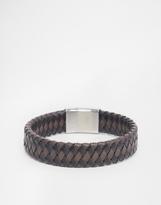Seven London Braided Bracelet - Brown