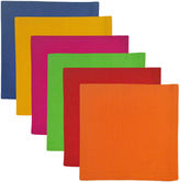 DESIGN IMPORTS Design Imports Primary Colors Set of 6 Napkins