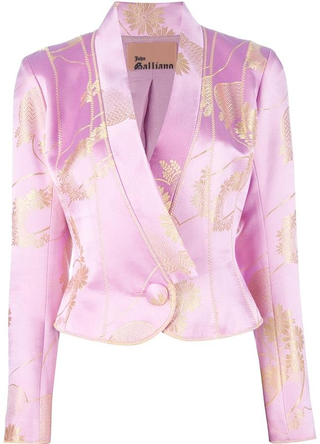 John Galliano Vintage brocade jacket