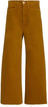 Proenza Schouler White Label Wide-Leg Cotton Culottes