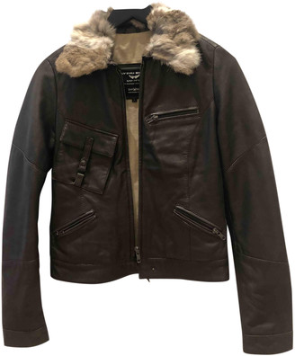 Oakwood Brown Leather Jackets