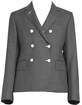 Thom Browne Women's Narrow Shoulder Double Breasted Jacket