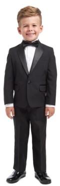 Nautica 4-Piece Tuxedo Suit, Shirt & Bowtie, Toddler Boys