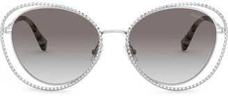Miu Miu La Mondaine cat eye-frame sunglasses