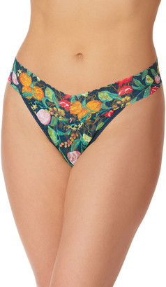 Hanky Panky Tropical Delight Original-Rise Printed Lace Thong
