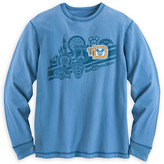 Disney Walt World Logo Long Sleeve Tee for Men