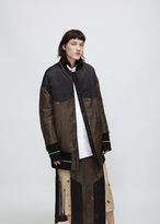 Josh Goot military / sand / black bomber jacket