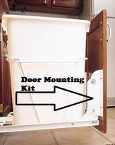 Rev-A-Shelf RV DM KIT Door Mounting Kit, White