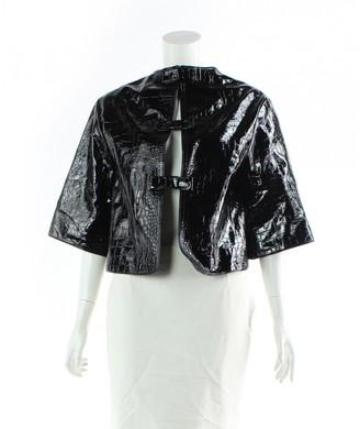 Erdem Black Leather Jackets