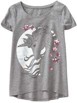 Crazy 8 Sparkle Unicorn Tee