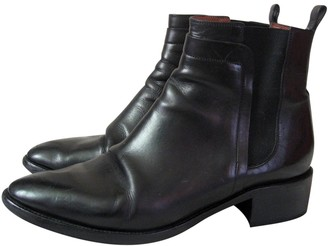 Sartore \N Black Leather Ankle boots