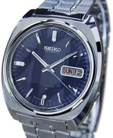 Seiko 7009 8100 Stainless Steel Automatic 37mm Vintage Mens Watch 1970s