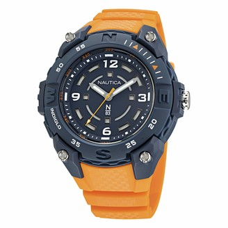 Nautica Men's Quartz Integrated Resin Strap