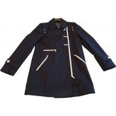 Gucci Blue Cotton Trench coat