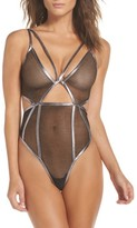 For Love & Lemons Women's Vega Sheer Bodysuit