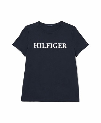 Tommy Hilfiger Women's Adaptive T Shirt with Magnetic Closure at Shoulders