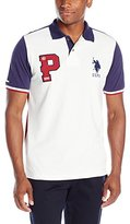 U.S. Polo Assn. Men's Color Block Pique Polo Shirt